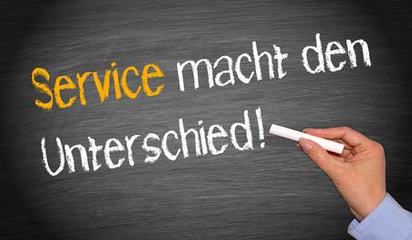 Fahrdienst ist Kundenservice