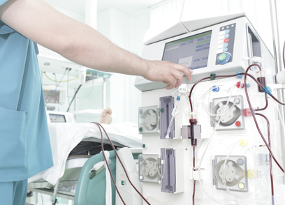 Dialyse im Krankenhaus