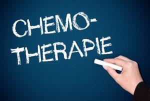 Chemotherapie Schriftzug